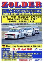 26.04.1992 - Zolder
