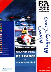 05.07.1992 - Magny Cours