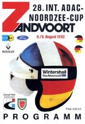 09.08.1992 - Zandvoort