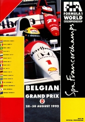 30.08.1992 - Spa-Francorchamps