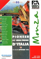 13.09.1992 - Monza
