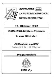 10.10.1992 - Nürburgring