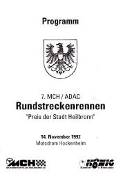 14.11.1992 - Hockenheim