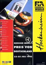 25.07.1993 - Hockenheim