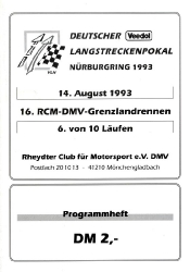 14.08.1993 - Nürburgring