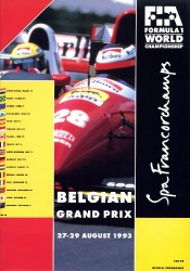 29.08.1993 - Spa-Francorchamps