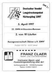 05.04.1997 - Nürburgring