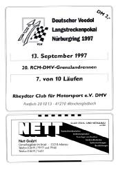 13.09.1997 - Nürburgring