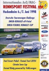 07.06.1998 - Hockenheim
