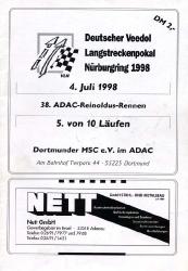 04.07.1998 - Nürburgring