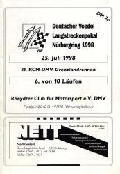 25.07.1998 - Nürburgring