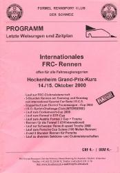 15.10.2000 - Hockenheim