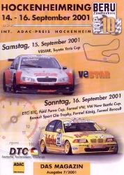 16.09.2001 - Hockenheim