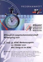 20.10.2001 - Nürburgring