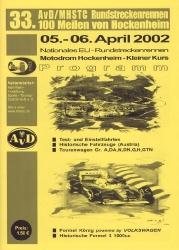06.04.2002 - Hockenheim