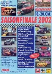 20.10.2002 - Nürburgring