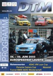 08.06.2003 - EuroSpeedway