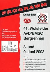 09.06.2003 - Wolsfeld