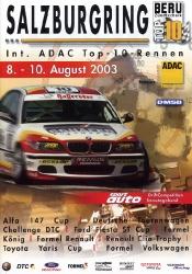 10.08.2003 - Salzburgring