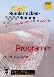 24.08.2003 - Spa
