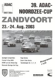 24.08.2003 - Zandvoort