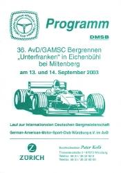 14.09.2003 - Eichenbühl