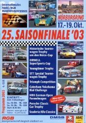 19.10.2003 - Nürburgring