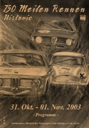 01.11.2003 - Nürburgring